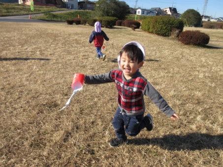凧あげをしました。♪