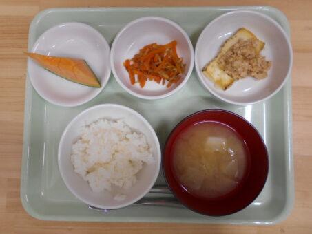 6月29日(月)食事&おやつ