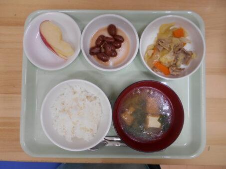 6月25日(木)食事&おやつ