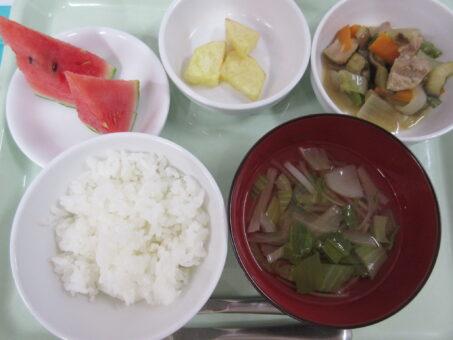 6月30日(火)食事&おやつ