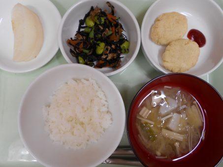 8月29日(月)昼食&おやつ